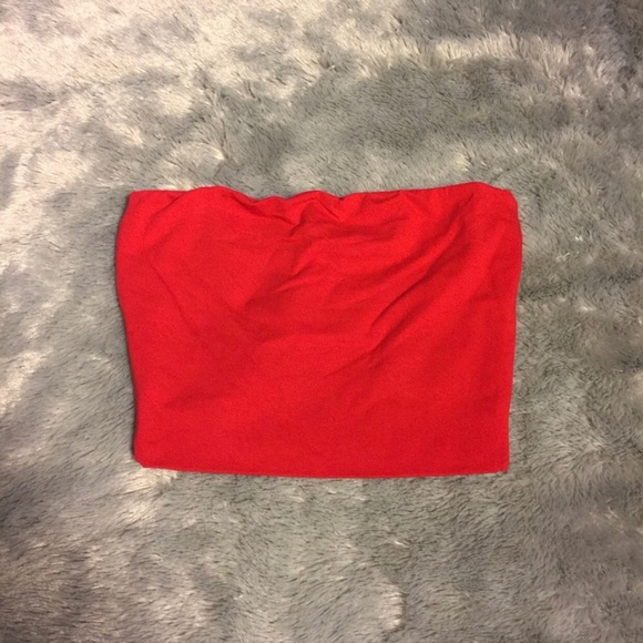 LF Tops - Tube Top - Red